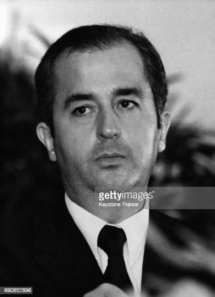 Portrait d'Edouard Balladur conseiller politique