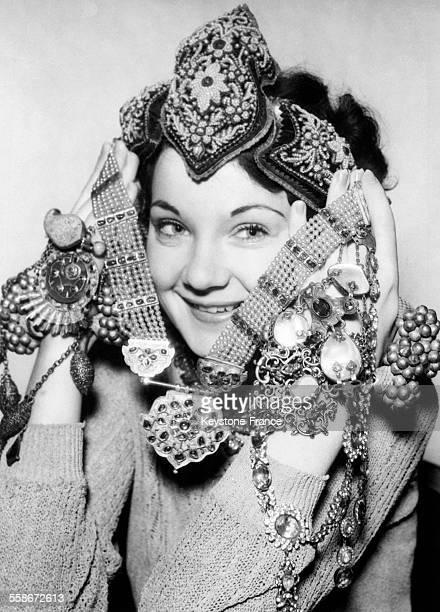 Portrait d'Eleonora Duse surnommée La Duse artiste dramatique italienne le 12 février 1965