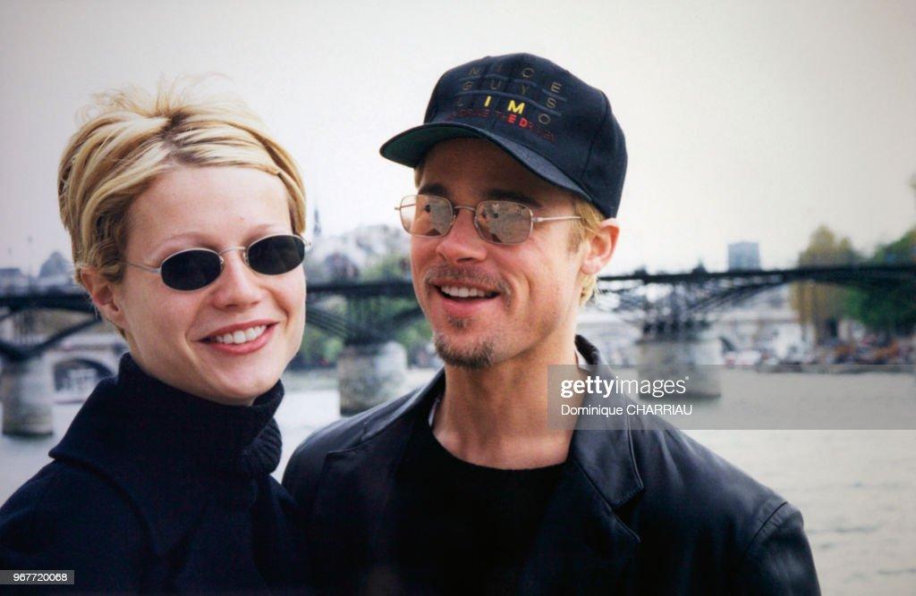 Portrait de Gwyneth Paltrow et de Brad Pitt : News Photo