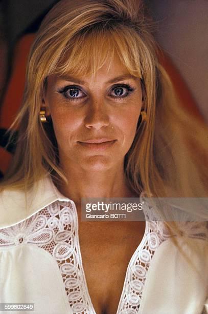 Portrait d'Estella Blain actrice circa 1960 en France