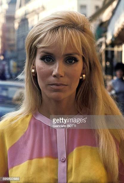 Portrait d'Estella Blain actrice circa 1970 en France
