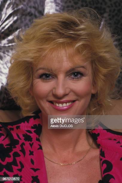 Portrait d'Evelyne Leclercq le 23 mars 1987 à Paris France