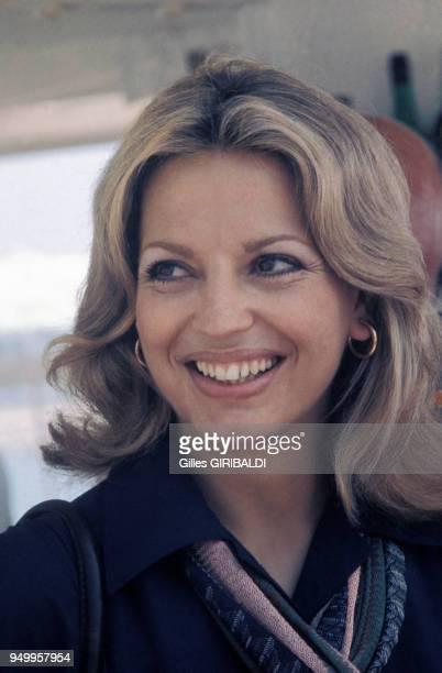 Portrait d'Ira de Furstenberg en mai 1974 à Cannes France