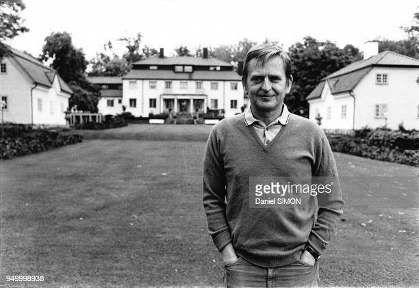 Portrait d'Olof Palme Permier ministre suédois en septembre 1973 à Stockholm Suède
