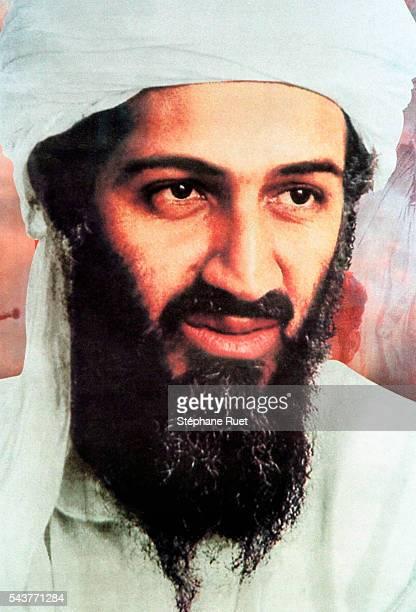 Portrait d'Oussama Ben Laden.