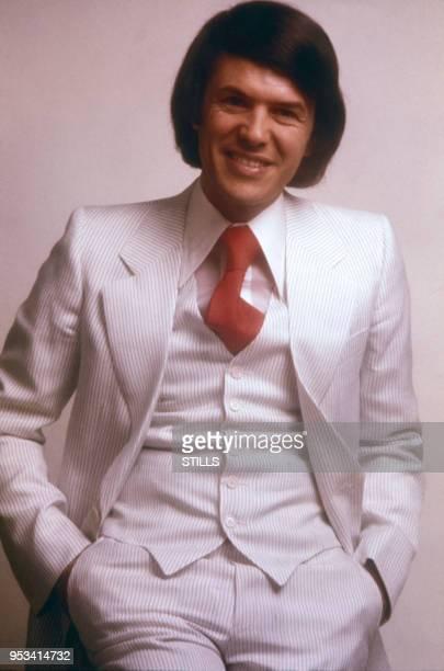 Portrait du chanteur français Salvatore Adamo dans les années 70, France. Circa 1970.