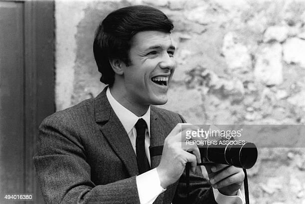 Portrait du chanteur italien Salvatore Adamo.