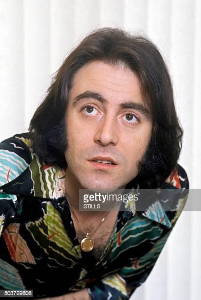 Portrait du chanteur Michel Delpech à Paris France circa 1970