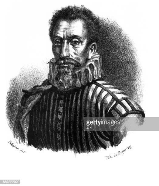 Portrait du chirurgien français Ambroise Paré
