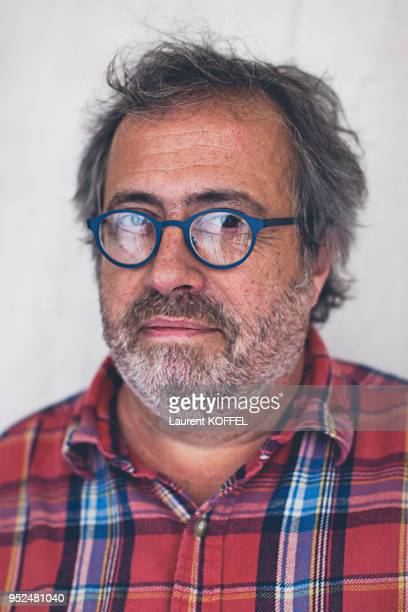 Portrait du cinéaste belge Jaco Van Dormael le 8 juillet 2015 à Paris France Film 'Le Tout Nouveau Testament'
