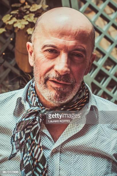 Portrait du cinéaste Jacques Audiard le 17 août 2015 à Paris France