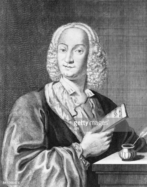 Portrait du compositeur Antonio Vivaldi