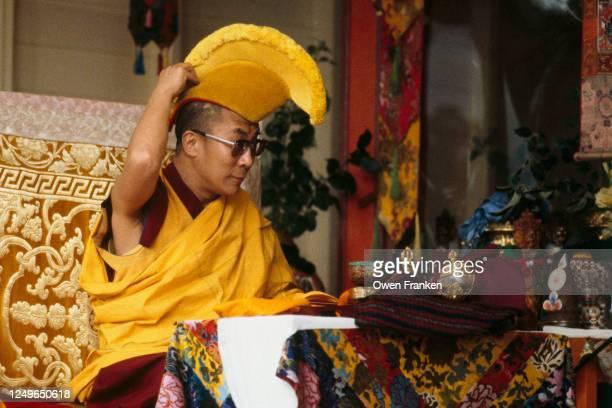 Portrait du Dalai Lama