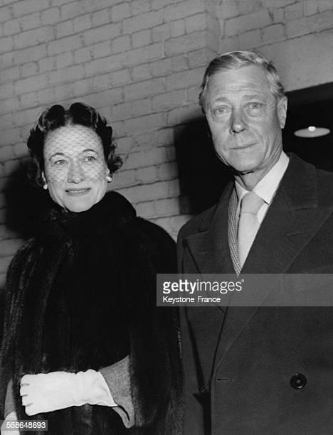 Portrait du duc de Windsor Edward VIII et de la duchesse de Windsor Wallis Simpson en mai 1937 a Londres RoyaumeUni