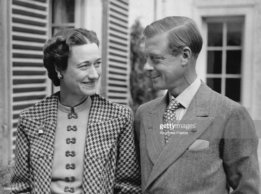Le Duc de Windsor Edward VIII Et La Duchesse de Windsor Wallis Simpson