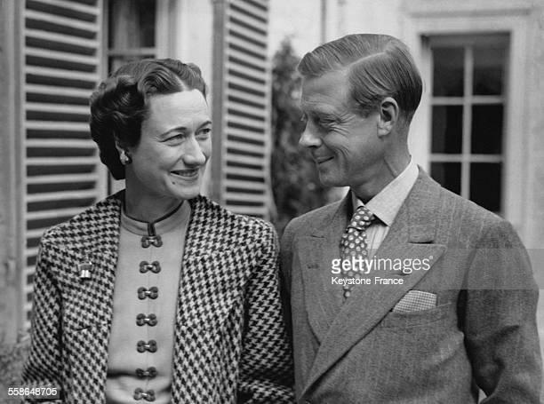 Portrait du duc de Windsor Edward VIII et de la duchesse de Windsor Wallis Simpson le 13 septembre 1939 a Londres RoyaumeUni
