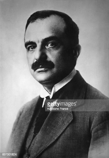Portrait du général Ioannis Metaxas premier ministre grec en Grèce le 14 avril 1936