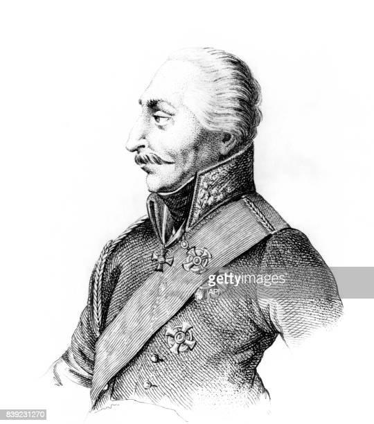 Portrait du général prussien Gebhard Leberecht von Blücher