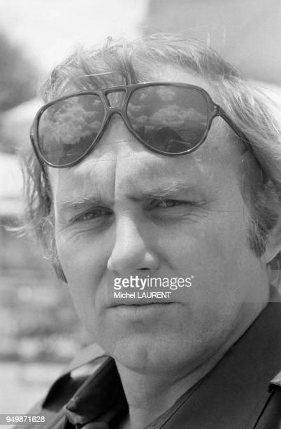 Portrait du journaliste Christian Brincourt le 5 mars 1974 à AddisAbeba Ethiopie