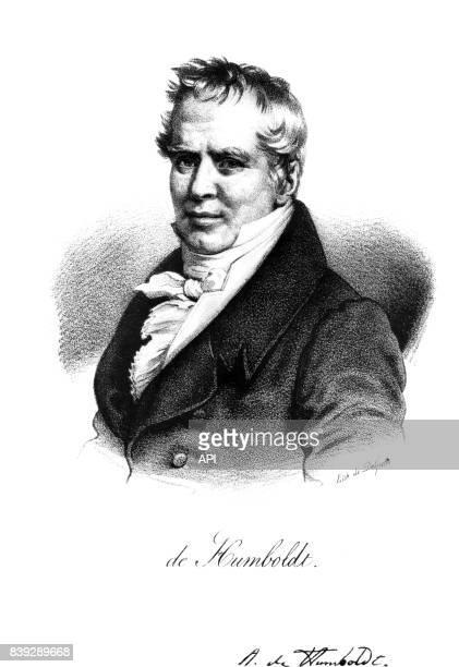 Portrait du naturaliste allemand Alexander von Humboldt