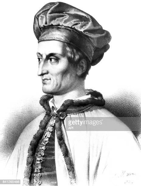 Portrait du navigateur florentin Amerigo Vespucci