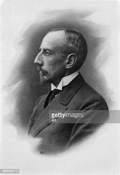 Portrait du navigateur norvégien Roald Amundsen