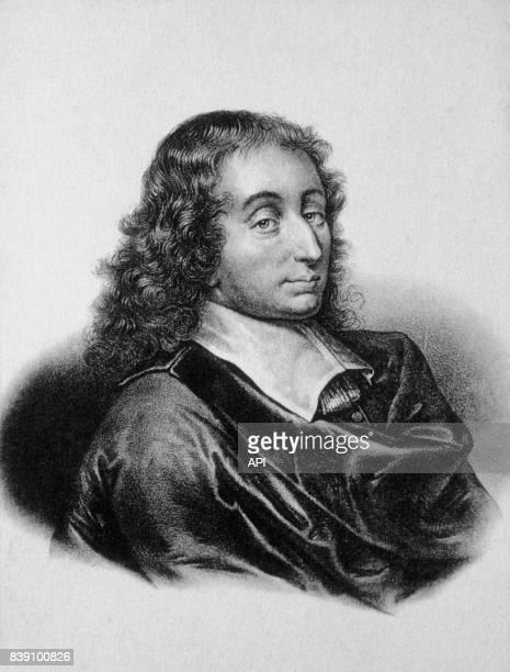Portrait du philosophe Blaise Pascal