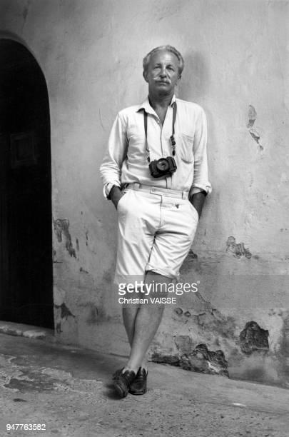 Portrait du photographe français JeanPhilippe Charbonnier