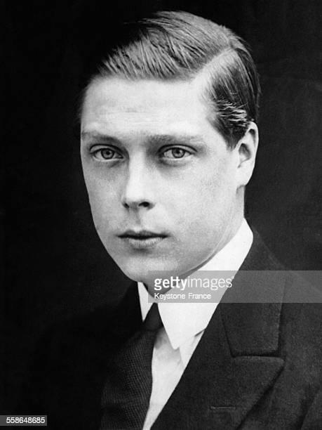 Portrait du Prince de Galles, futur roi Edward VIII puis duc de Windsor apres son abdication, circa 1910, a Londres, Royaume-Uni.