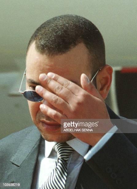 Portrait du prince heritier Sidi Mohamed pris le 03 juillet 1999 à Rabat Sidi Mohamed succède au roi Hassan II mort le 23 juillet d'une crise...