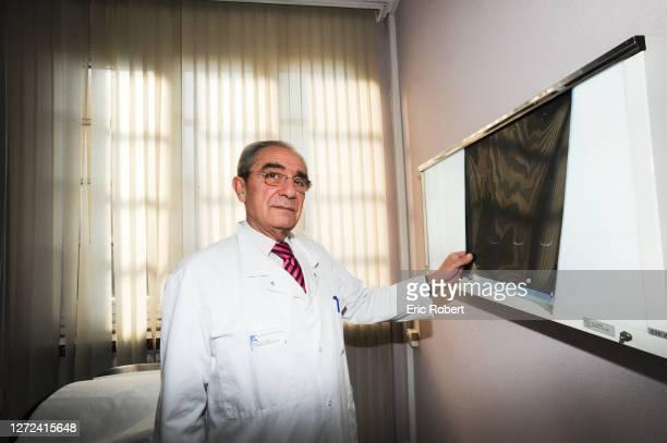 Portrait du professeur Bernard Debré