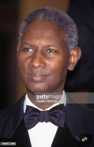 Portrait du président Abdou Diouf en juin 1991 au Sénégal