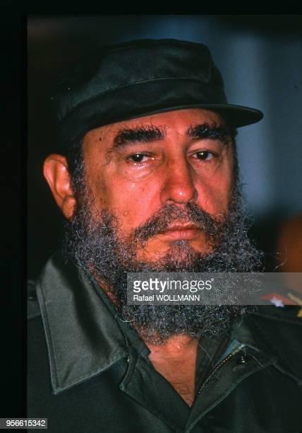 Portrait du président argentin Fidel Castro