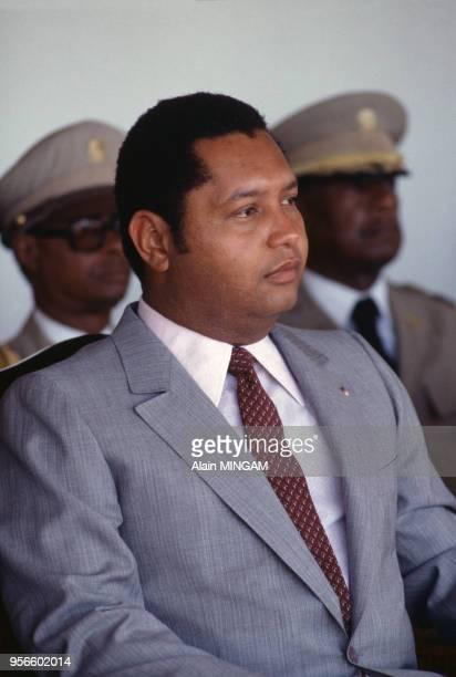 Portrait du Président Jean-Claude Duvalier, avril 1981, Haïti.
