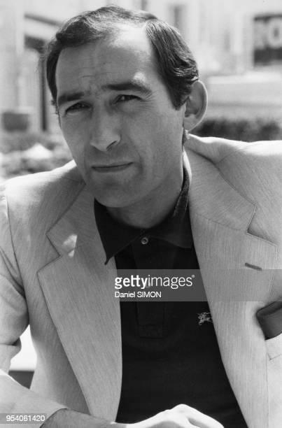 Portrait du réalisateur Alain Corneau circa 1980