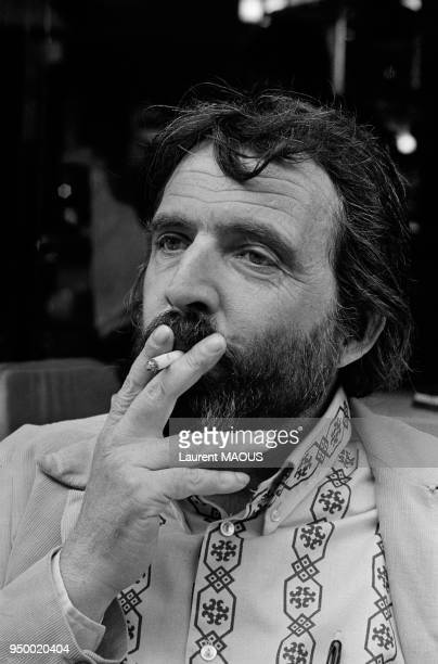 Portrait du réalisateur Alain Tanner en septembre 1973 à Genève Suisse