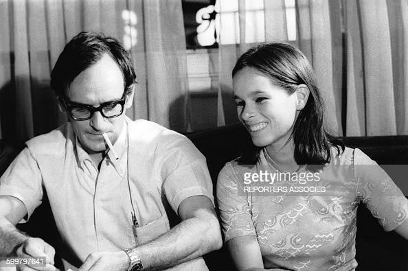 Portrait du réalisateur Carlos Saura et de Geraldine ...  Portrait du ré...