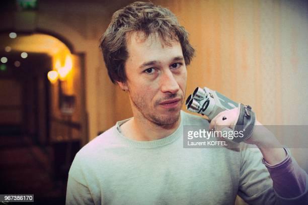 Portrait du réalisateur français Bertrand Bonello pendant les Rendezvous du cinéma français le 16 janvier 2009 à Paris France Film 'L'Apollonide...