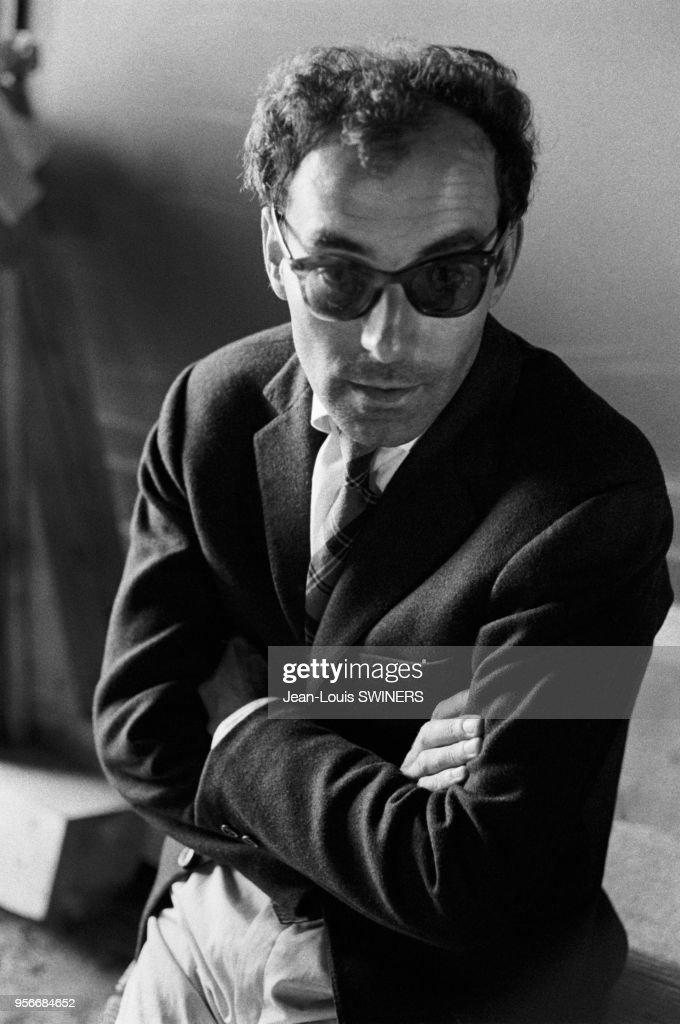 Portrait de Jean-Luc Godard : News Photo