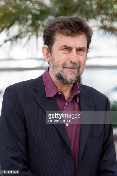 Portrait du réalisateur Nanni Moretti lors du photocall du film ?Mia Madre' pendant le 68eme Festival du Film Annuel au Palais des Festivals le 16...