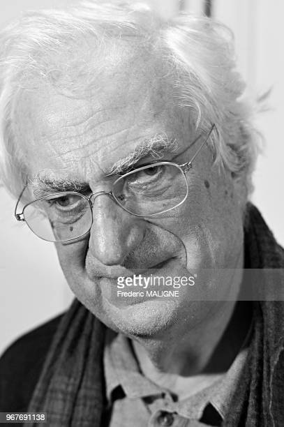 Portrait du realisateur francais Bertrand Tavernier le 21 octobre 2013, Toulouse, France.