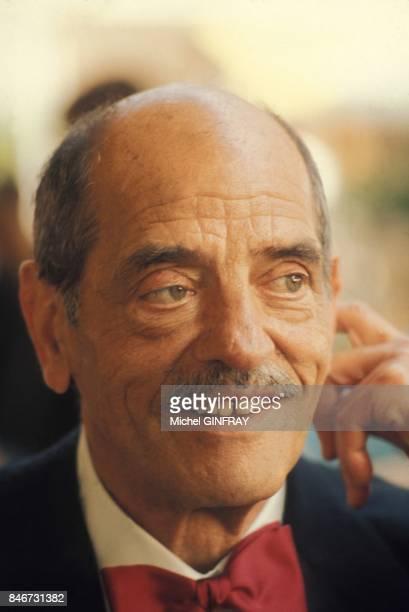 Portrait du realisateur Luis Bunuel circa 1970 en France