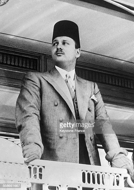 Portrait du Roi Farouk en Egypte circa 1940