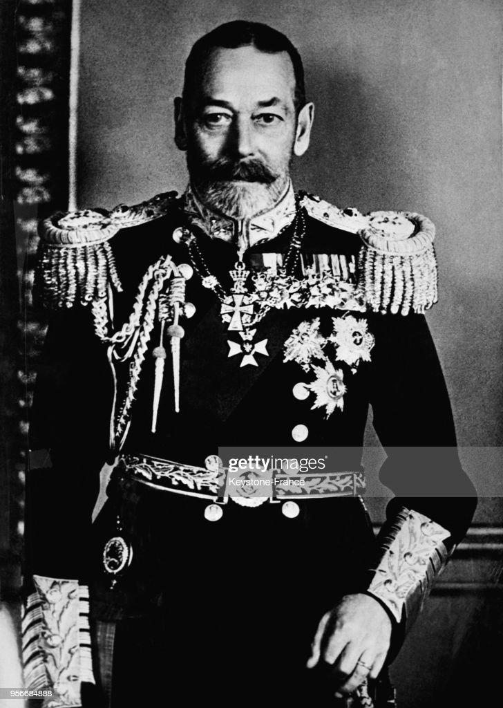 Portrait de George V : News Photo