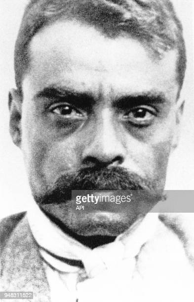 Portrait du révolutionnaire méxicain Emiliano Zapata