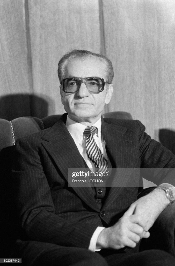 Portrait du shah d'Iran : News Photo
