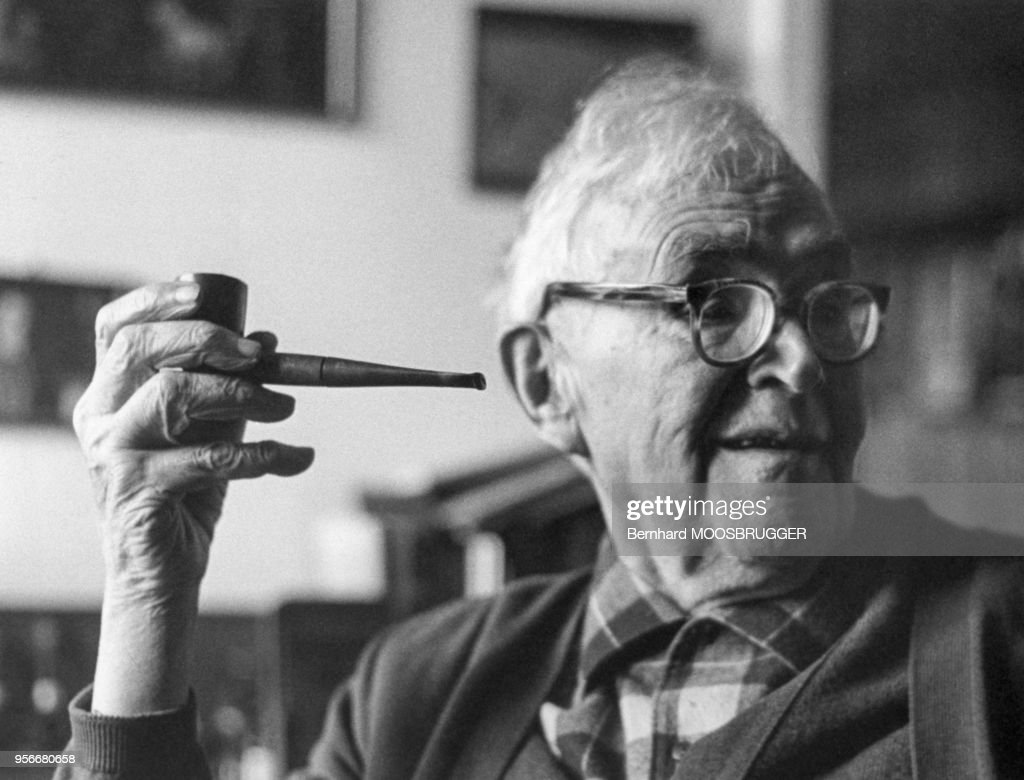 Portrait de Karl Barth : News Photo
