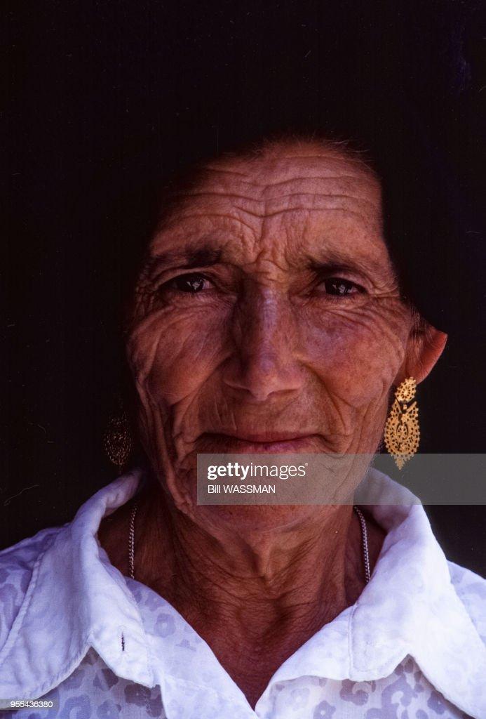 une femme agee