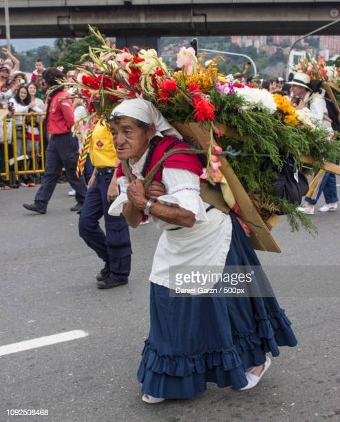 Portrait, festival of flowers Medellin