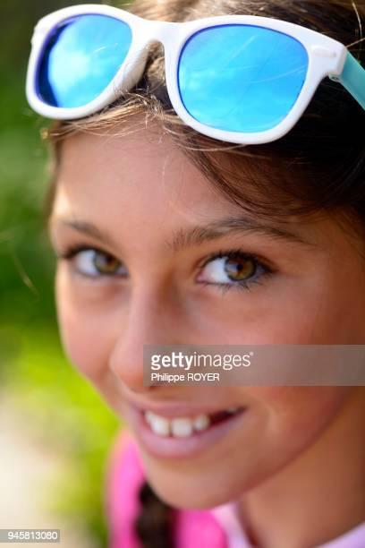 Portrait fille de 11 ans MR